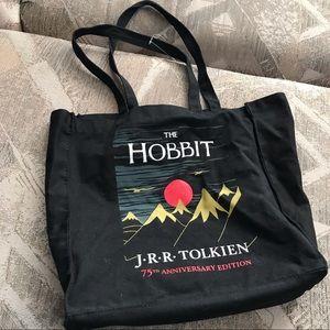 The Hobbit 75th Anniversary Black Bucket Tote